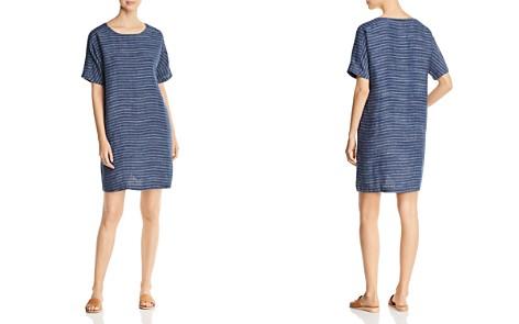 Eileen Fisher Striped Linen Tunic Dress - Bloomingdale's_2
