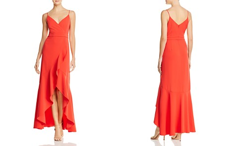 Laundry by Shelli Segal Ruffled High/Low Gown - 100% Exclusive - Bloomingdale's_2