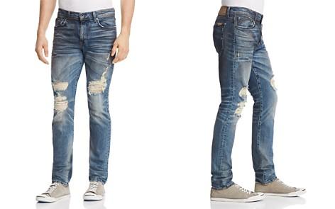 Joe's Jeans Burns Slim Fit Jeans in Destroyed Blue - Bloomingdale's_2