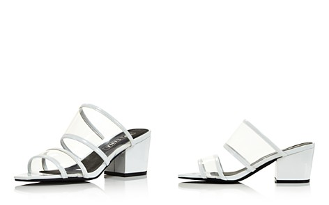 Sol Sana Women's Ziggy Leather Illusion Block Heel Slide Sandals - 100% Exclusive - Bloomingdale's_2