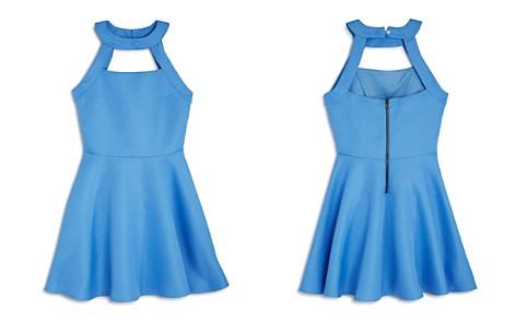 Miss Behave Girls' Textured Cutout Harper Dress - Big Kid - Bloomingdale's_2