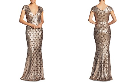 Dress the Population Lina Star Sequin Mermaid Gown - 100% Exclusive - Bloomingdale's_2