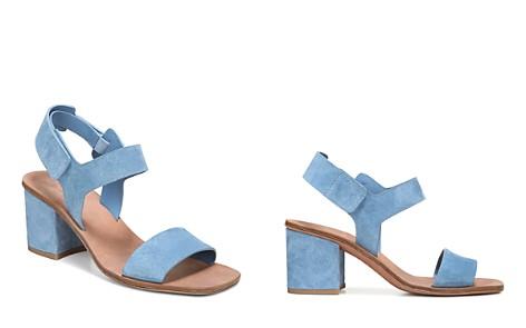 Via Spiga Women's Kamille Suede Block Heel Ankle Strap Sandals - Bloomingdale's_2