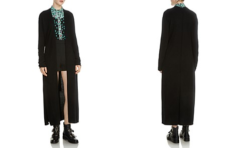 Maje Marina Long Open Cardigan - Bloomingdale's_2