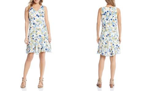 Karen Kane Floral Ruffle-Hem Dress - 100% Exclusive - Bloomingdale's_2