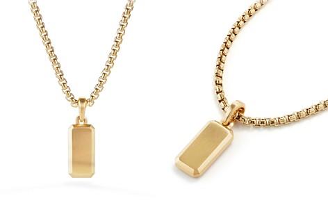 David Yurman Streamline Amulet in 18K Gold - Bloomingdale's_2