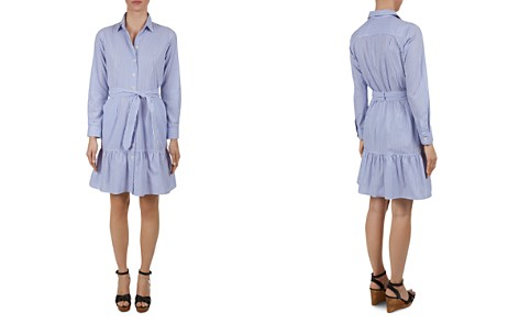 Gerard Darel Dakota Pinstriped Shirt Dress - Bloomingdale's_2