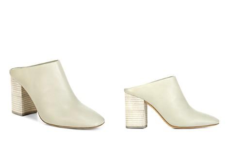 Vince Women's Faris Leather Block Heel Mules - Bloomingdale's_2