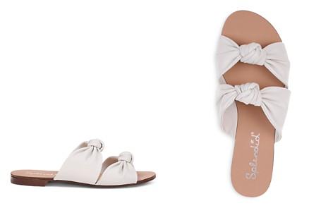 Splendid Women's Barton Knotted Leather Slide Sandals - Bloomingdale's_2