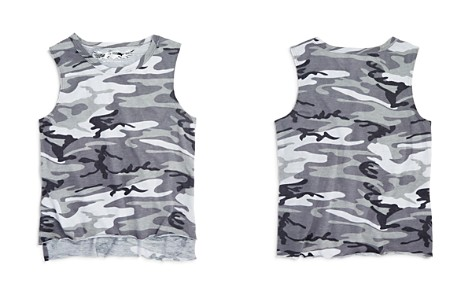 So Nikki... Girls' Camo Muscle Tee - Big Kid - Bloomingdale's_2