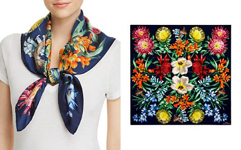 Echo Blooms of Oceania Silk Square Scarf - Bloomingdale's_2