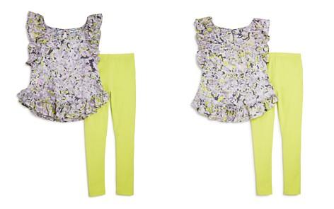 Splendid Girls' Flutter-Sleeve Top & Leggings Set - Little Kid - Bloomingdale's_2