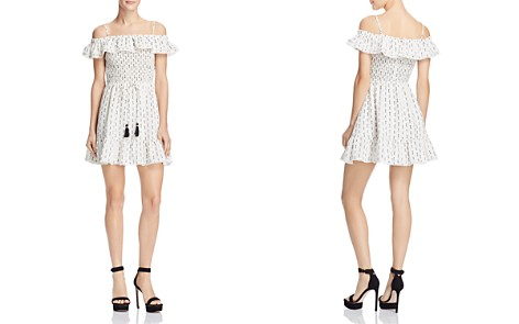 Lost + Wander Hollywood Ruffled Cold-Shoulder Mini Dress - Bloomingdale's_2