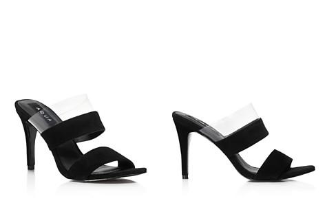 AQUA Women's Santos Mid Heel Slide Sandals - 100% Exclusive - Bloomingdale's_2