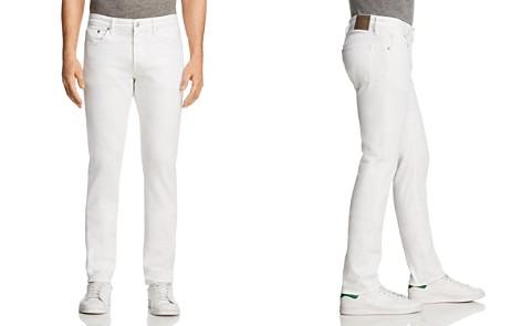 S.M.N Studio Hunter Standard Slim Fit Jeans in White - Bloomingdale's_2