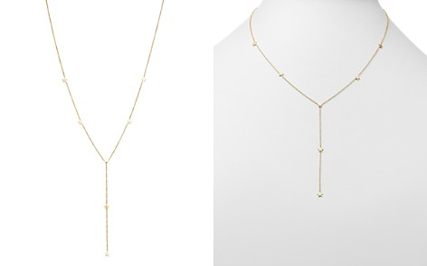 """Zoë Chicco 14K Yellow Gold Itty Bitty Stars Y Necklace, 16"""" - Bloomingdale's_2"""