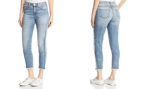 True Religion Colette High-Rise Tapered Skinny Jeans in Two Faced Fade - Bloomingdale's_2