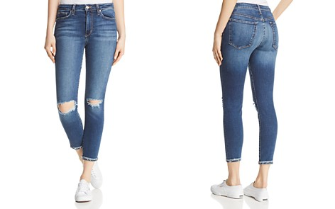 Joe's Jeans The Charlie Crop Cuffed Skinny Jeans in Mandala - Bloomingdale's_2