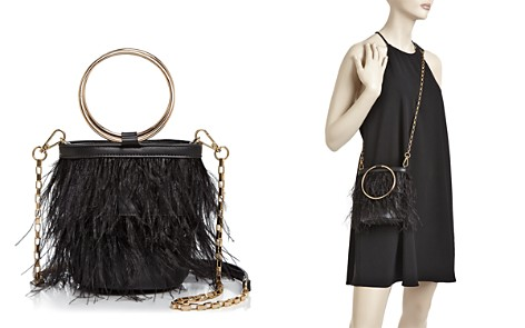 Street Level Feather Ring Crossbody - Bloomingdale's_2