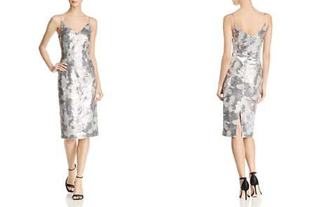 Black Halo Amorie Sequined Cocktail Dress - Bloomingdale's_2