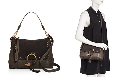 See by Chloé Joan Small Leather & Suede Shoulder Bag - Bloomingdale's_2