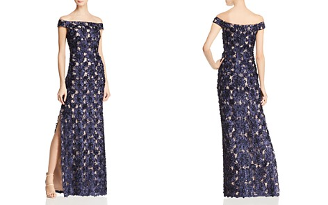 Aidan Mattox Embellished Off-the-Shoulder Gown - Bloomingdale's_2