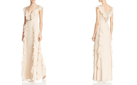 Aidan Mattox Embellished Flutter Gown - Bloomingdale's_2