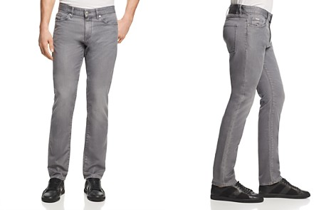 BOSS Delaware Slim Straight Fit Jeans in Gray - Bloomingdale's_2