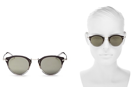 Oliver Peoples Vintage Round Keyhole Sunglasses, 47mm - Bloomingdale's_2