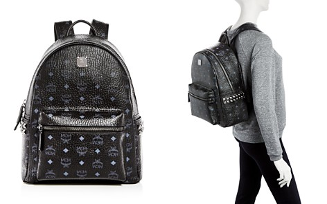 MCM Visetos Medium Stark Studded Backpack - Bloomingdale's_2