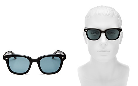 GARRETT LEIGHT Calabar Square Sunglasses, 50mm - Bloomingdale's_2