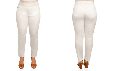 Foxcroft Plus Nina Slimming Denim Leggings - Bloomingdale's_2