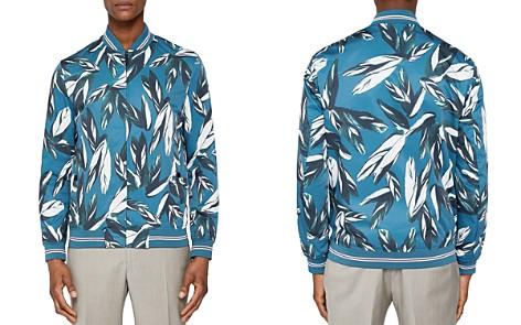 Ted Baker Toth Leaf Print Bomber Jacket - Bloomingdale's_2