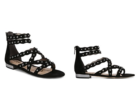 Sam Edelman Women's Daya Studded Suede Sandals - Bloomingdale's_2