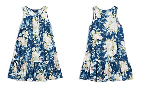 Polo Ralph Lauren Girls' Floral Drop-Waist Dress - Big Kid - Bloomingdale's_2