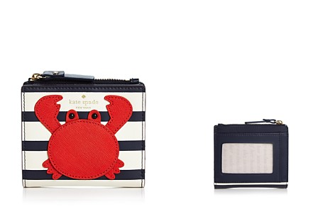 kate spade new york Shore Thing Crab Adalyn Bi-Fold Wallet - Bloomingdale's_2