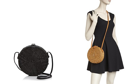 Street Level Circle Straw Crossbody - Bloomingdale's_2