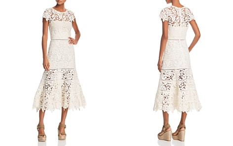 Joie Celedonia Lace Illusion Dress - Bloomingdale's_2