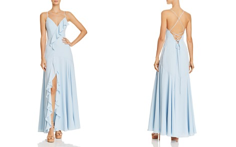 Fame and Partners Callais Ruffle-Trimmed Gown - Bloomingdale's_2