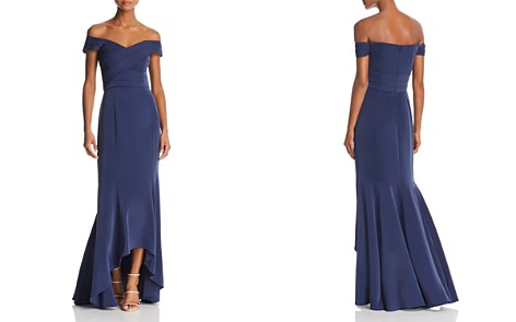 Laundry by Shelli Segal Off-the-Shoulder Gown - Bloomingdale's_2