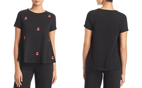 Lisa Todd Embroidered Cherry Swing Tee - Bloomingdale's_2