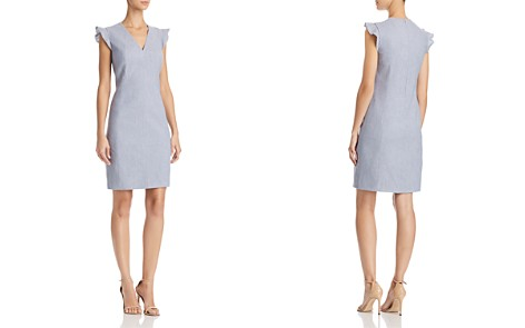 T Tahari Patty Ruffle-Sleeve Dress - Bloomingdale's_2