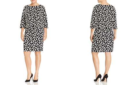 Leota Plus Cluster Dot Tiered Bodice Dress - Bloomingdale's_2