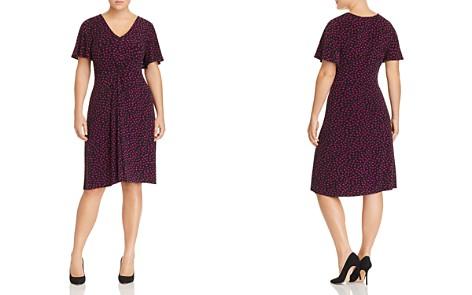 Leota Plus Betty Twist-Front Printed Dress - Bloomingdale's_2
