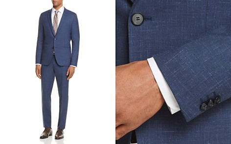 HUGO Arti/Hesten Slim Fit Shadow Check Suit - Bloomingdale's_2