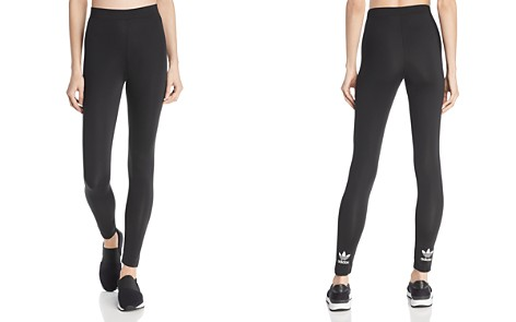 adidas Originals Trefoil Cuff Leggings - Bloomingdale's_2