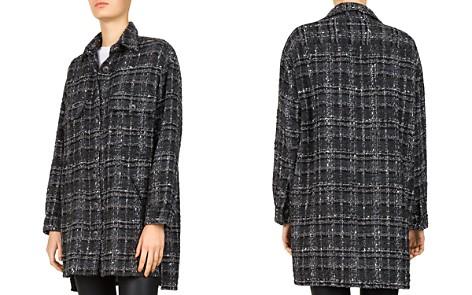 The Kooples Tweed Checker-Box Shirt - Bloomingdale's_2