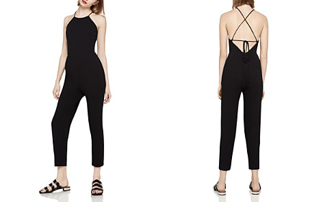 BCBGeneration Crisscross Tie-Back Jumpsuit - Bloomingdale's_2