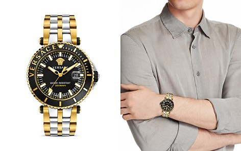 Versace V-Race Diver Watch, 46mm - Bloomingdale's_2