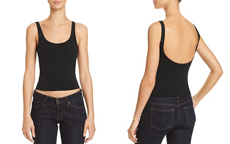 Theory Tubular Cropped Tank - Bloomingdale's_2